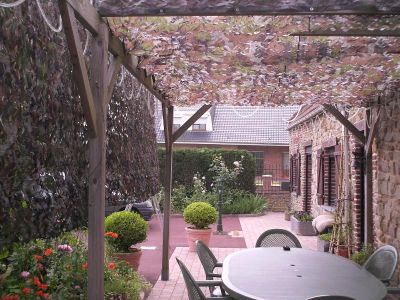 Filets 83309110 u s woodland install s sur pergola d tail filet pictures to pin on pinterest - Filet camouflage pergola ...